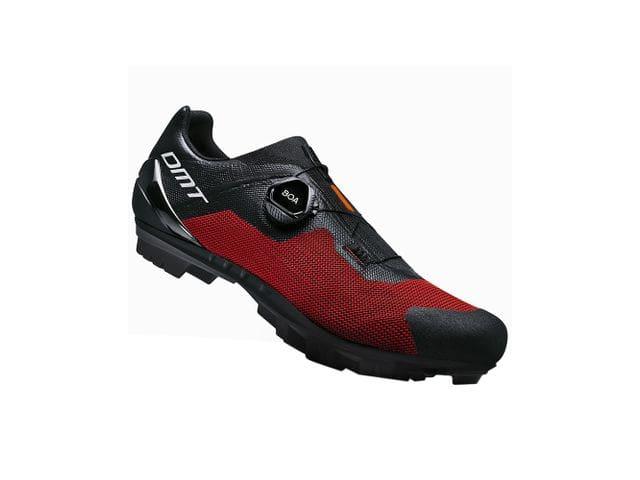 Zapatillas DMT Modelo KM4 Negro/Rojo - XC / MARATÓN