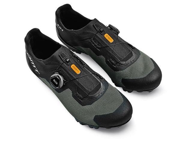 Zapatillas DMT Modelo KM4 Negro/Gris - XC / MARATÓN