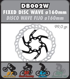 DISCO FRENO 160 mm GALFER Bike  DB002W