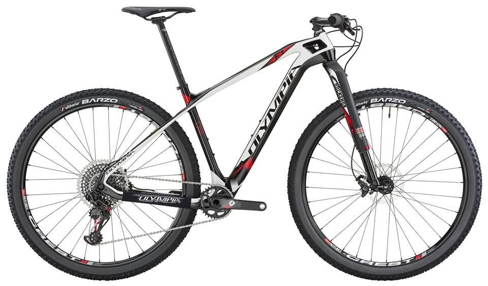 Bicicleta MTB Carbono 29 er. OLYMPIA Modelo F1.