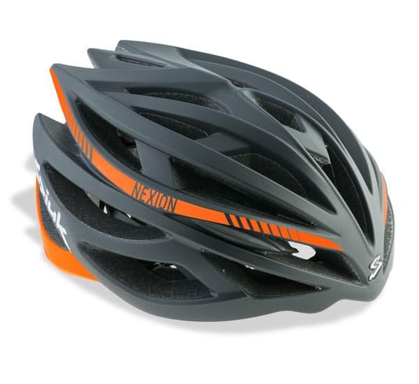 Casco SPIUK NEXION Color Negro / Naranja CNEXI1607.