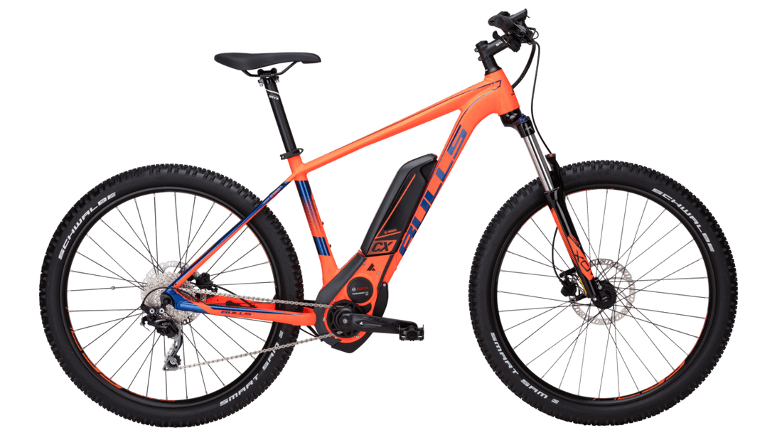 Bicicleta MTB E-Bike Bull SIX50 E 1.5 Color Neon Orange Matt.