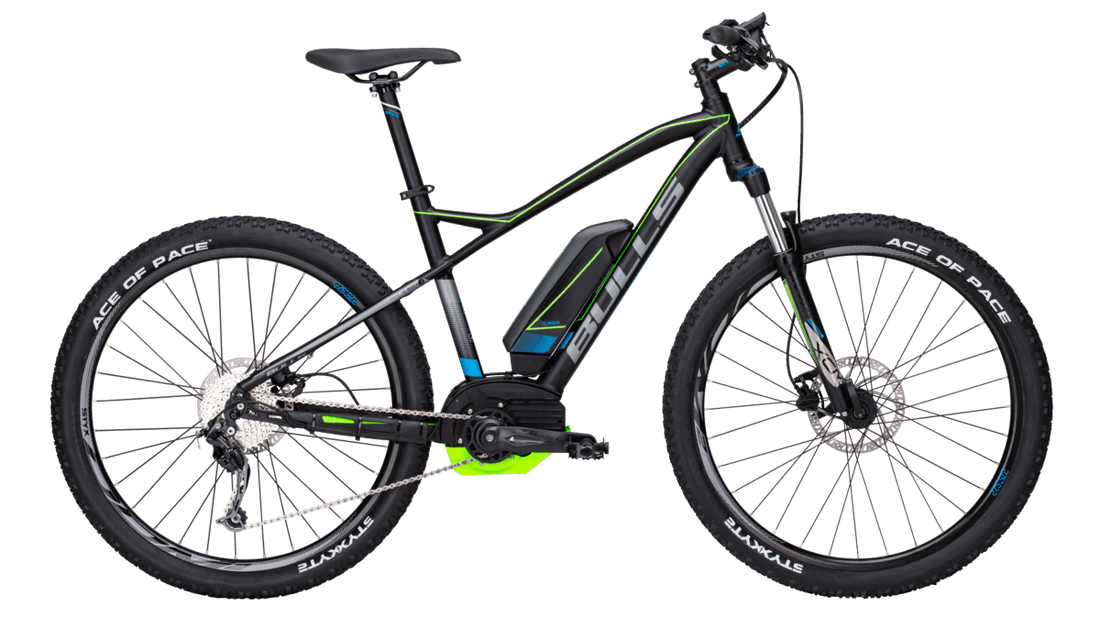 Bicicleta MTB E-BIKE Bull SIX50 E-1CX  Color Black Matt.