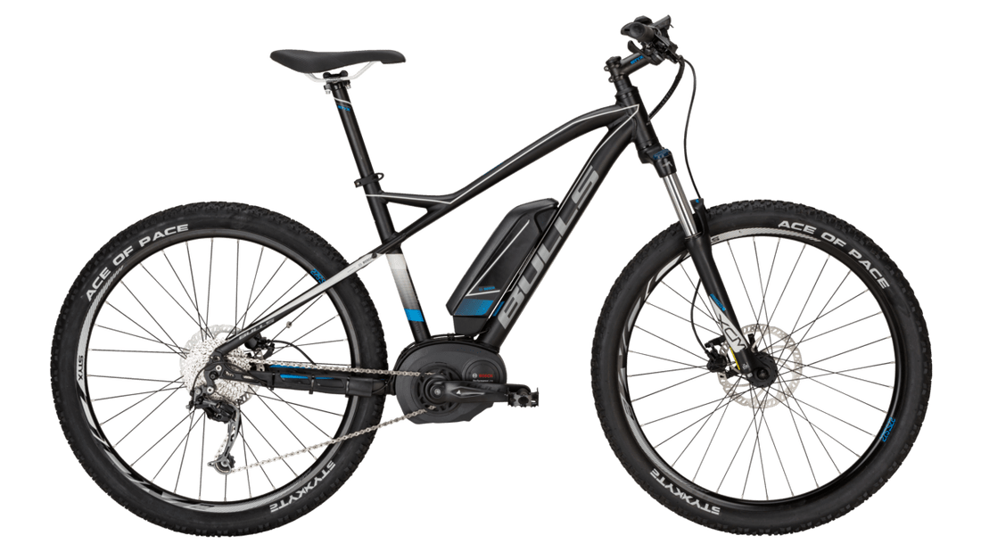 Bicicleta MTB E-Bike Bull SIX 50 E1 Color Black Matt.