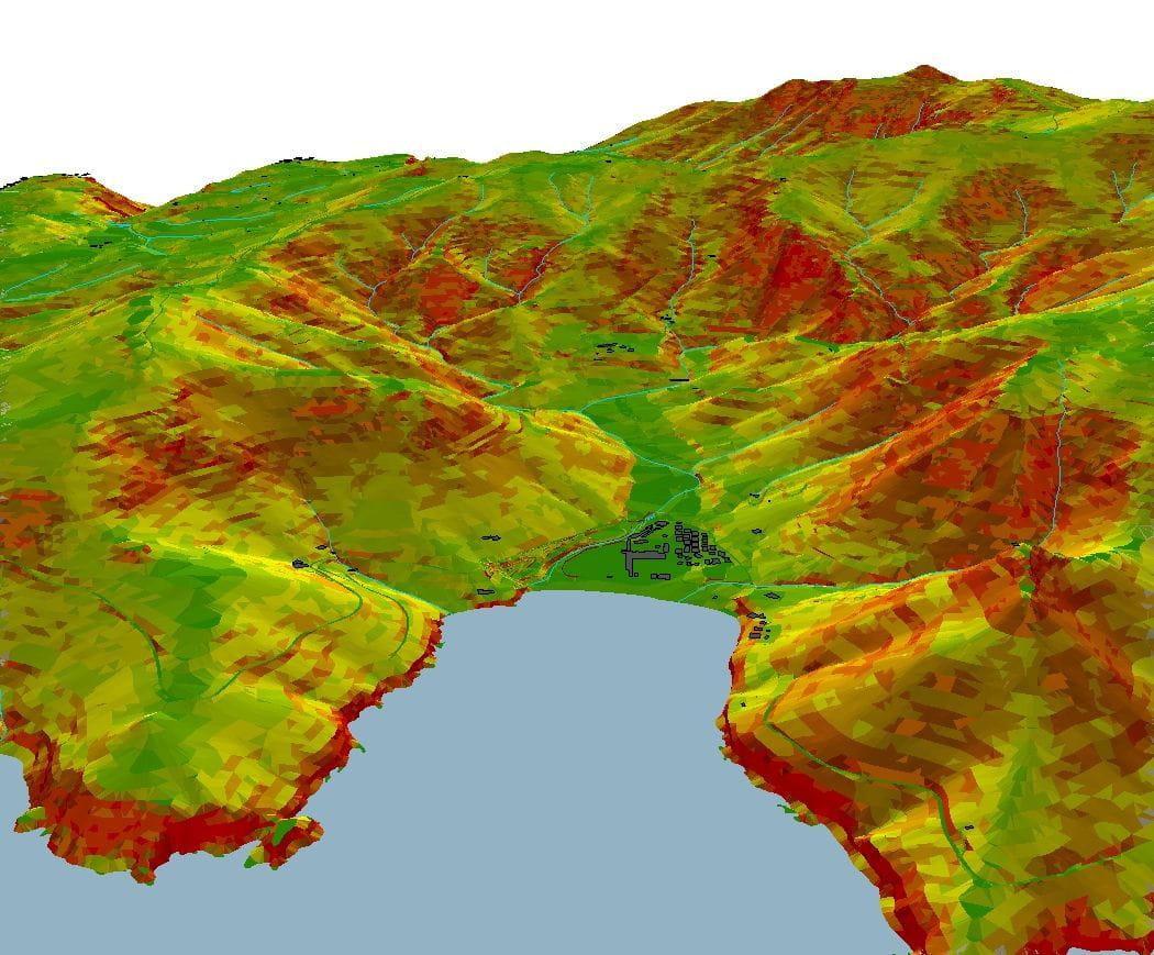 Visualització 3D de pendents