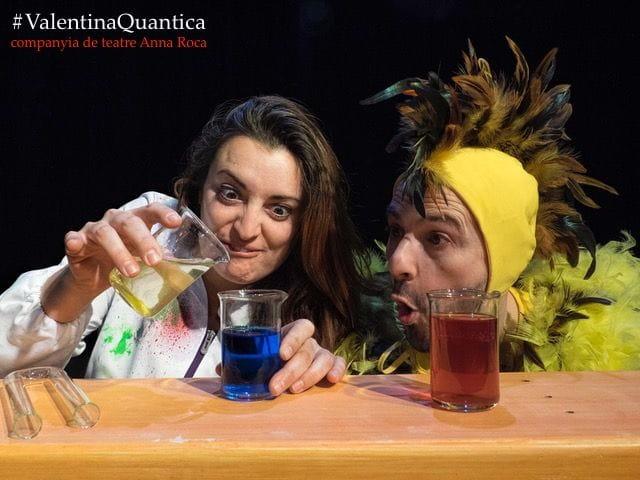 Valentina Quàntica, la nova producció de la cia de teatre Anna Roca