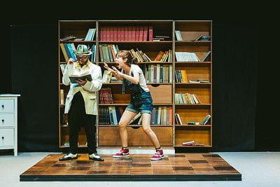 Un moment de l'espectacle ''El Sr. Petit'' -  Foto: Sílvia Poch