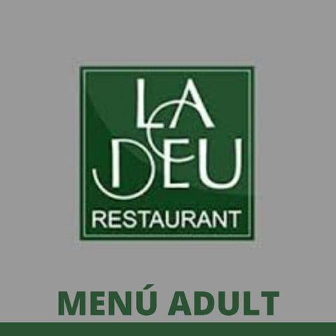 Menú Adult Sopar de Gala 2020