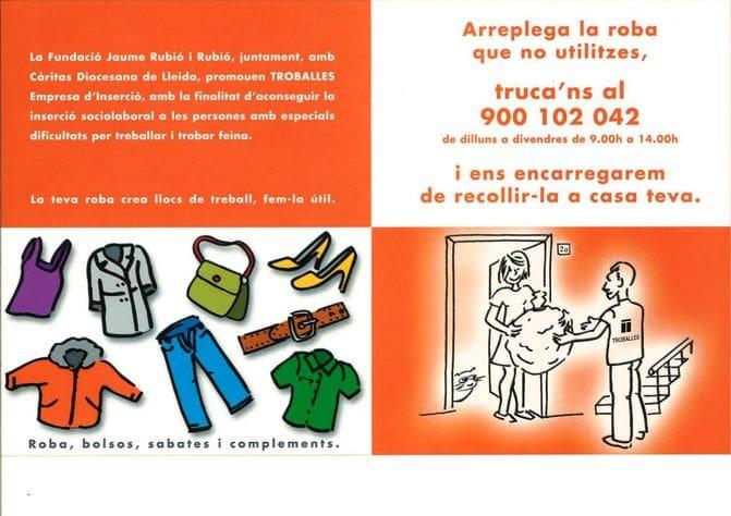 Servicio de recogida de ropa a domicilio