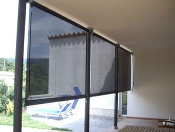 Toldos verticales para exterior imagen with toldos - Estores exteriores enrollables ...