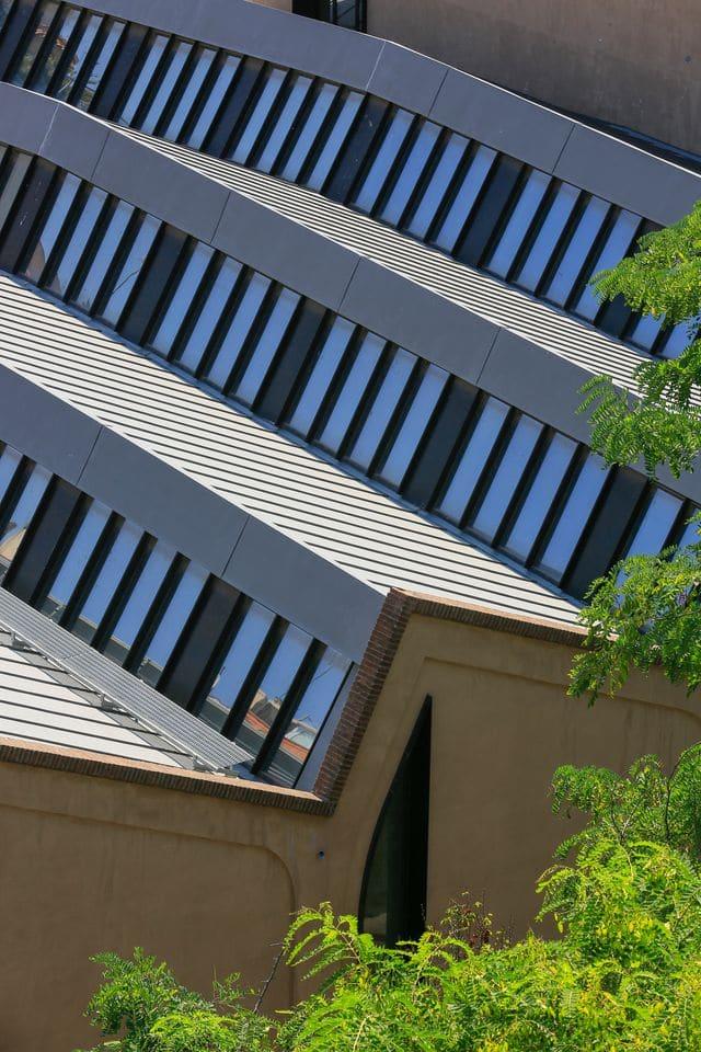 Biblioteca, Barcelona (España) / Fotografía VMZINC©