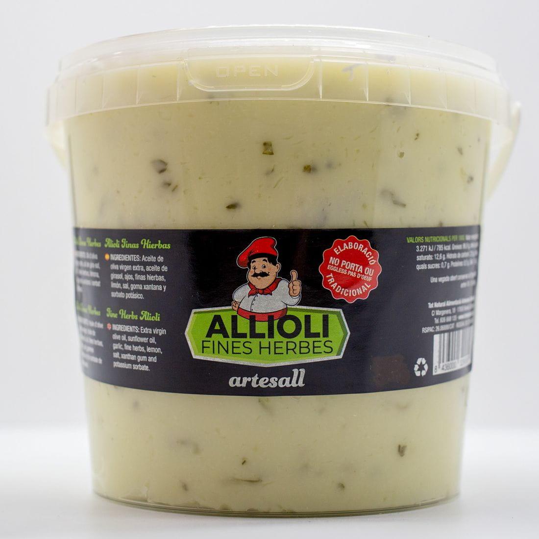 Allioli Artesall a les Fines Herbes