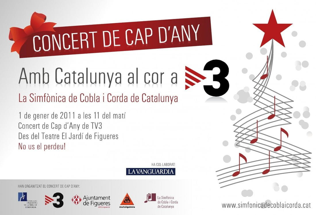 Gran concert de Cap d'Any a TV3!