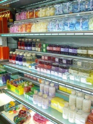 Estanterias perfumer a etiquetas ganchos expositor - Estanterias para perfumerias ...