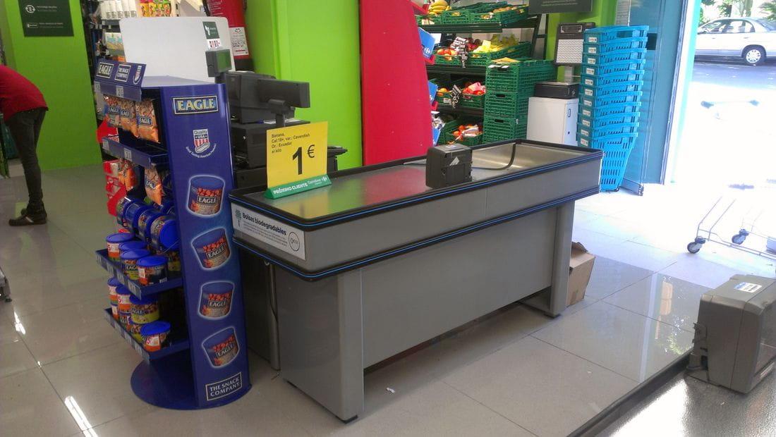 Mueble caja registradora supermercado 20170717150852 for Muebles para supermercado